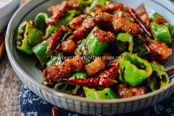 Sichuan Spicy Pork Belly - Sample