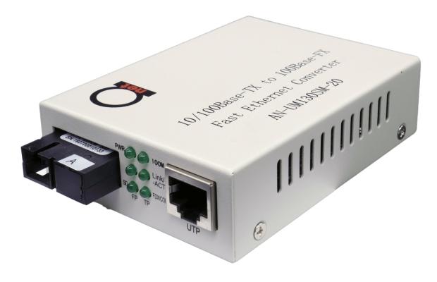 Fast Ethernet WDM media converter