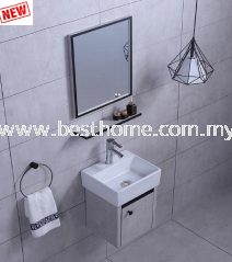 SS CABINET + BASIN RAL3603