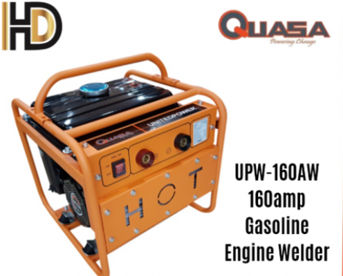 QUASA 160AMP GASOLINE ENGINE WELDER FEATURES UPW-160AW