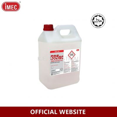 OUT OF STOCK IMEC 585SC Spray Clean Toilet Seat Sanitizer, 5L
