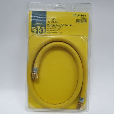 "HCL6-36-Y, 3/8"" High Speed Vacuum Hose (3ft)"