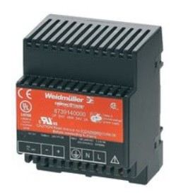 8739140000 -  AC-DC CONVERTER, DIN RAIL, 1 O/P, 48W, 2A, 24V AC / DC DIN Rail Mount Power Supplies Weidmueller