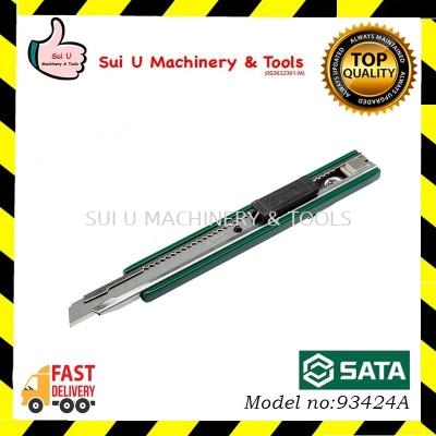 SATA 93424A Zinc Alloy Utility Cutter 13-point 9x80mm