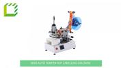Semi automatic Tamper Top Labelling Machine (China) Semi-Automatic Desktop Labelling Machines  Packaging Machines