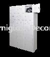 18 compartments steel locker Multiple Locker Steel Furniture