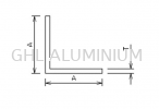 Equal Angle Aluminium Angle(Equal)