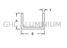 Unequal Channel Aluminium Channel(Unequal)