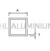 Square Hollow Aluminium Hollow(Square)