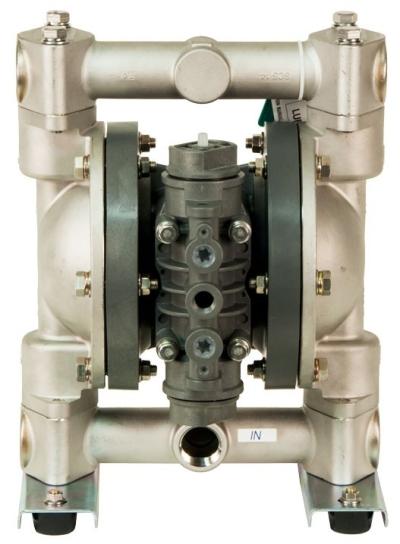 Yamada Polypropylene Center Body Diaphragm Pump NDP-P25BA