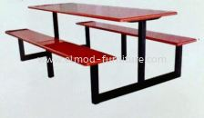 6 Seater Table & Bench