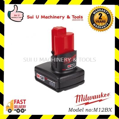 MILWAUKEE M12B3 M12™ 3.0AH REDLITHIUM™-ION COMPACT BATTERY