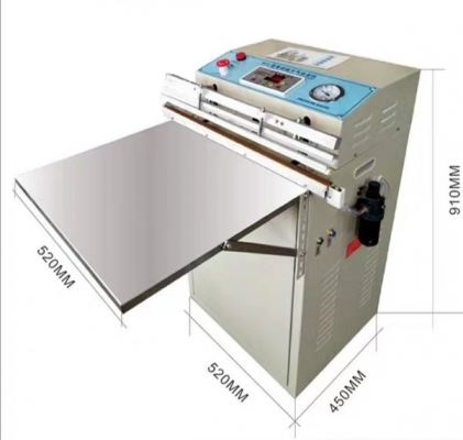 W-S730 600mm external vacuum packing machine nitrogen gas flush vacuum sealer