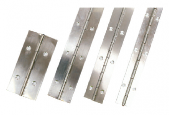 STAINLESS STEEL PIANO HINGE - S/S SHANK