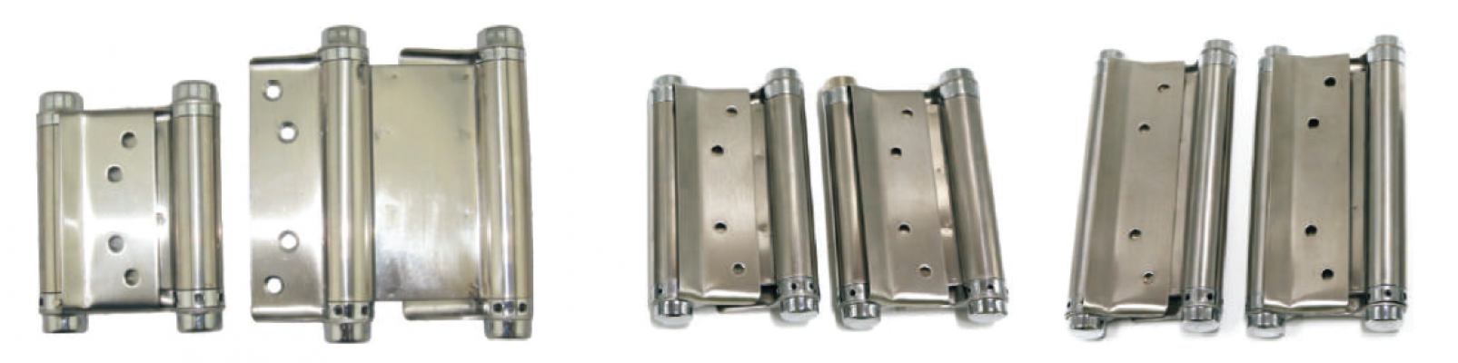 STAINLESS STEEL DOUBLE ACTION HINGE