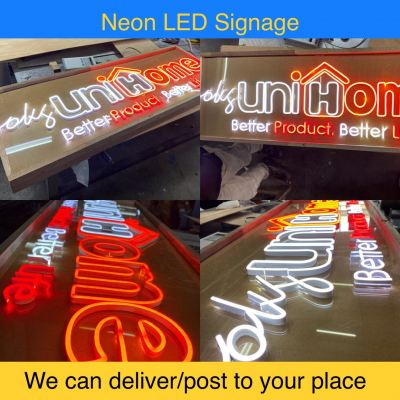NEON LED SIGN DELIVER/POST TO ENTIRE MALAYSIA OR OVERSEAS