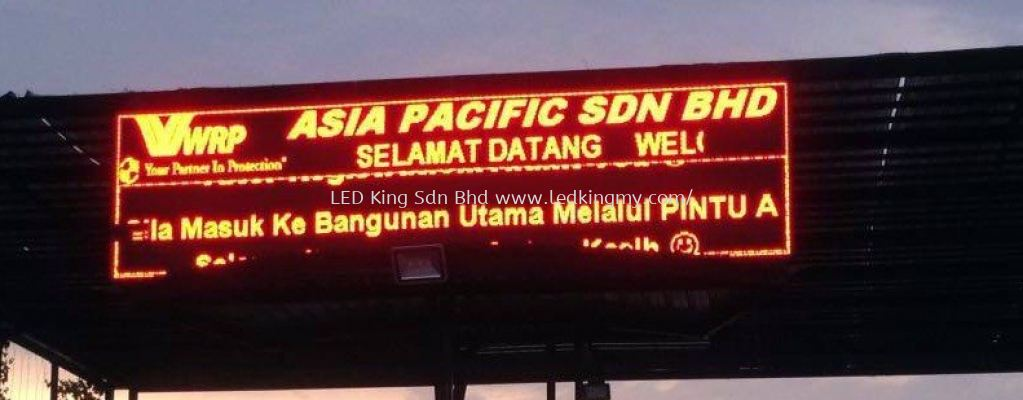 Outdoor Giant LED Panel Malaysia