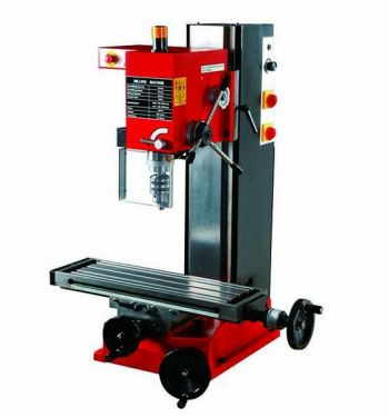 """SIEG"" 25MM DRILLING/50MM  MILLING MACHINE MT3 600W 230V W. XY TABLE SIZE:700X160MM C/W STD ACCESS MODEL: X3L"