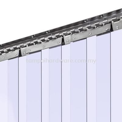 PVC Strip Curtain Rail & Hanger