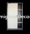 Full Height Cupboard with Steel Sliding Door Full Height Cupboard Office Steel Furniture
