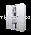 Full Height Cupboard with Steel Swinging Door Full Height Cupboard Steel Furniture