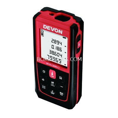 DEVON 9818-LM80-Li 80m Lithium-Ion Digital Laser Distance Meter