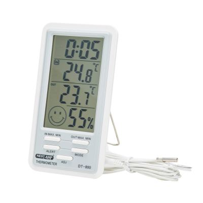 Nestamp Humidity Thermometer Clock DT-800