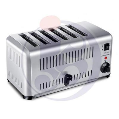 Commercial 6 Slice Electric Bread Toaster
