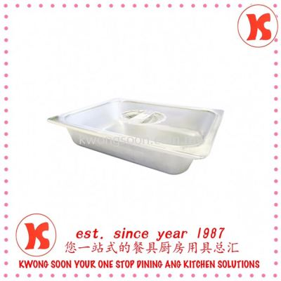 Stainless Steel Food Pan With PC Cover