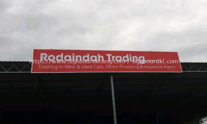 Rodaindan trading normal metal g.i signboard at sugai besi Kuala Lumpur