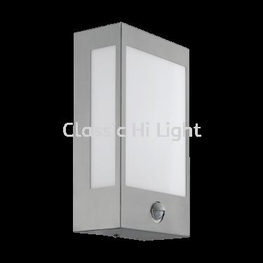 Eglo 95989 OD-LED-WL W.SENSOR STAINLESS-STEEL/WHITE