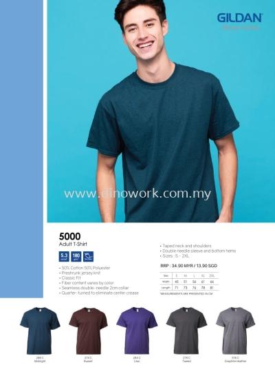 Round Neck (Cotton) 5000