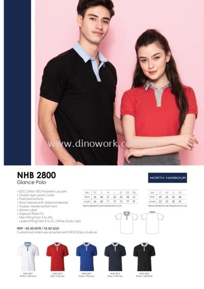 Polo T-shirt NHB2800