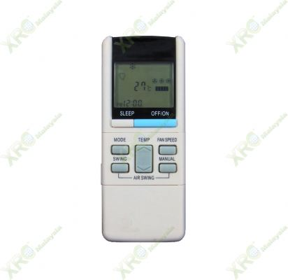A75C460 NATIONAL AIR CONDITIONING REMOTE CONTROL