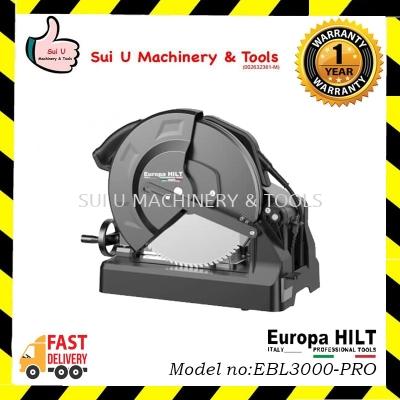 "EUROPA HILT EBL3000-PRO 14"" Heavy Duty Industrial Low-Speed Metal Cutting Machine (Brushless) 3000w"