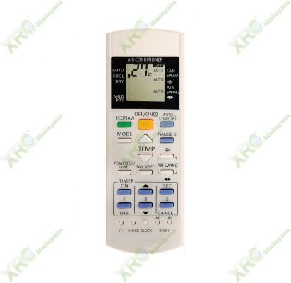 A75C3706 PANASONIC AIR CONDITIONING REMOTE CONTROL