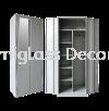 Full Height Wardrobe with Steel Swinging Door Wardrobe Office Steel Furniture