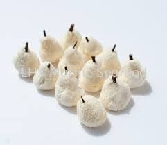 Golden Pear Dumpling