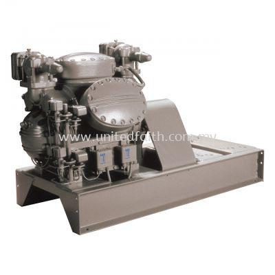 Carlyle Open Drive Reciprocating Base-Mounted Compressor 5F 5 to 20 Nominal Tons 20 to 70 Nominal kW