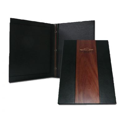 Faux Leather with Ebony Insert
