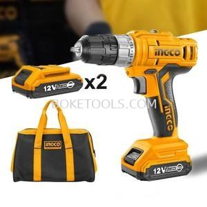 (AVAILABLE IN PIONEER BRANCH) INGCO CDLI1222 Lithium-Ion Cordless Drill