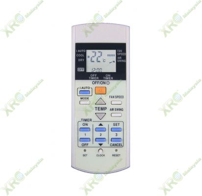 CS-PC12QKH PANASONIC AIR CONDITIONING REMOTE CONTROL