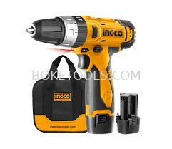 (AVAILABLE IN PIONEER BRANCH) INGCO CDLI228120-2 Lithium-Ion Cordless Drill (12V)