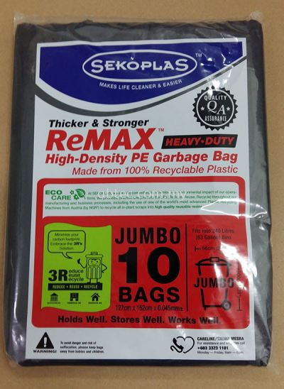 Garbage Bag Commercial (Heavy Duty)