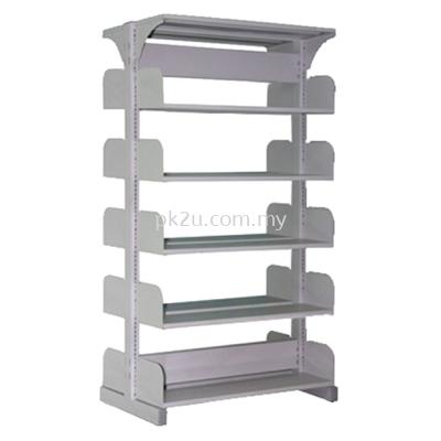 DSLS-5L-OP - Double Sided Library Shelving (10 Shelves)