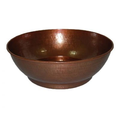 Flower Bowl Copper Carving