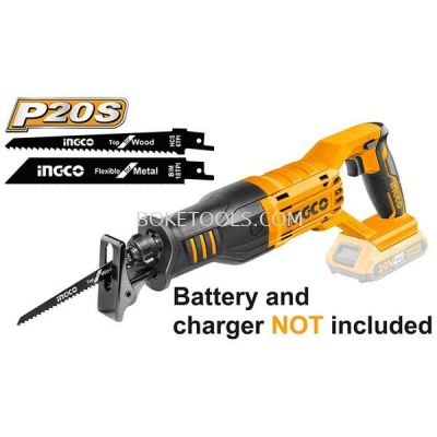 (AVAILABLE IN PIONEER BRANCH) INGCO CRSLI1151 Lithium-Ion Reciprocating Saw