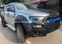 FORD RANGER 2015 T6 CONVERSION 2018 RAPTOR BUMPER SET