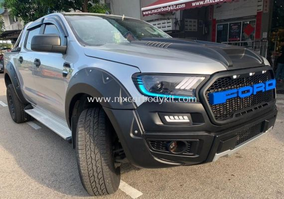 FORD RANGER 2015 T6 CONVERSION 2018 RAPTOR 1 BUMPER SET