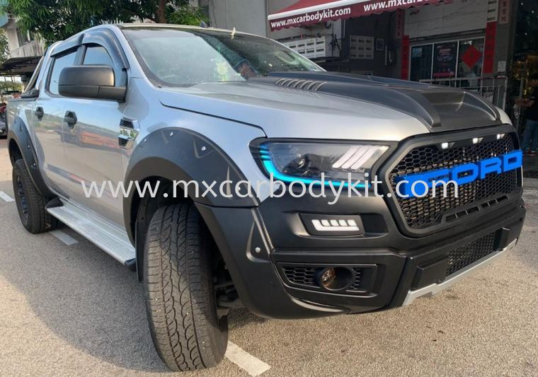 FORD RANGER 2015 T6 CONVERSION 2018 RAPTOR 1 BUMPER SET  RANGER T6 FORD